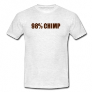 98 % Chimp  shirt