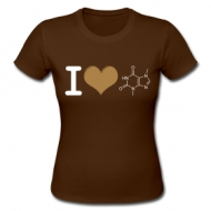 I love chocolade! (dames) shirt
