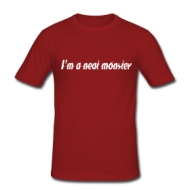 I'm a neat monster  t-shirt