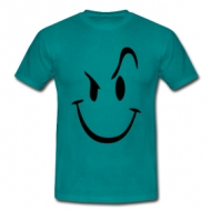 Evil smilie t-shirt