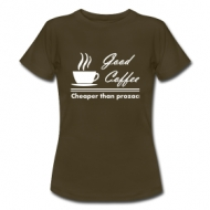 Good Coffee (dames) t-shirt
