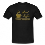 Good Coffee (heren) shirt
