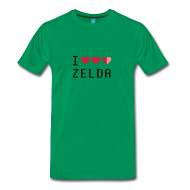 I Love Zelda! shirt