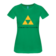 I saved the TriForce! t-shirt