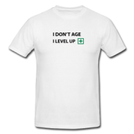 Gamershirt: I level up shirt