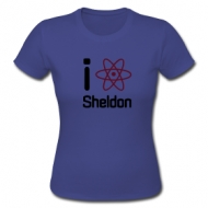 I love Sheldon! shirt