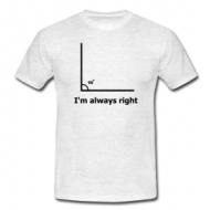 I'm always right shirt
