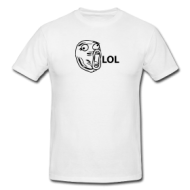 Meme: LOL Guy t-shirt