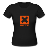 IRRITANT! (dames) t-shirt