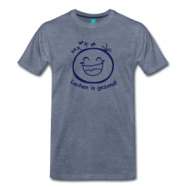 Lachen is gezond! t-shirt