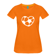 Lady loves voetbal! shirt