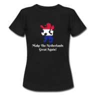 Make The Netherlands Great again! (dames) t-shirt