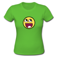 Meme Smiley (dames) shirt