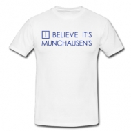 I believe it's Munchausen t-shirt