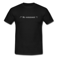No Comment Nerdshirt shirt