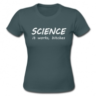 Science works! (Dames) shirt