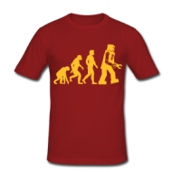 Robot Evolutie (Sheldon) t-shirt