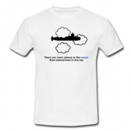 Submarines in the sky shirt