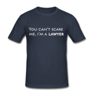 Suits: You cant scare me, lawyer (dames) shirt