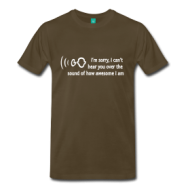 Suits: I cannot hear you.. t-shirt