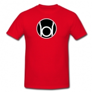 Red Lantern (Sheldon) t-shirt