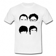 Silhouette faces shirt