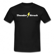 Thunder struck (heren)  t-shirt