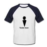 Toilet man! shirt