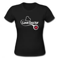 The Love Doctor t-shirt