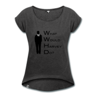 Suits: What would Harvey do? (dames) t-shirt