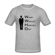 Suits: What would Harvey do? shirt
