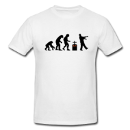 Zombie evolution shirt