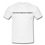 Zuw even brommers kieken shirt