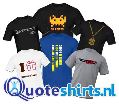 T-shirts van Quoteshirts